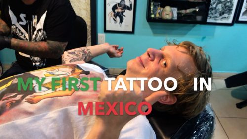 Tattoo in Mexico Guanojuato