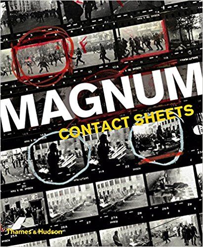 Book about street photography Magnum Contact Sheets