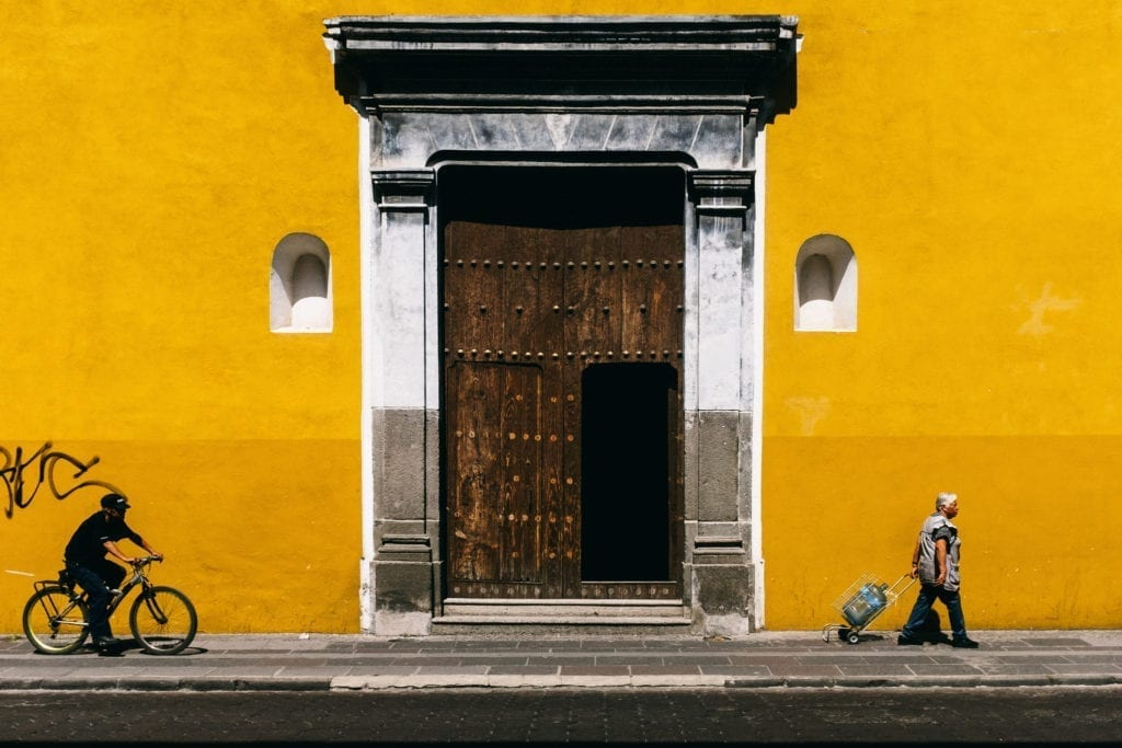Street Photo in Puebla mexico