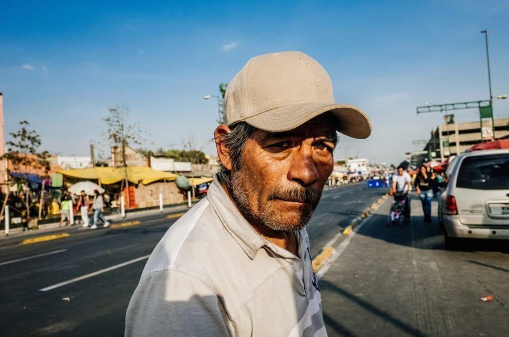 Street portrait color
